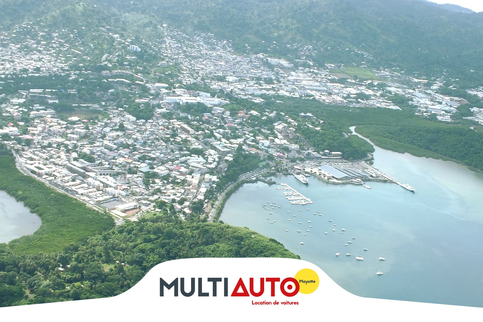 Location de véhicule à l'agence de Dzaoudzi à Mayotte
