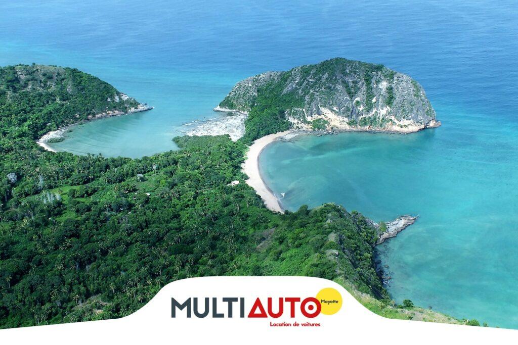 Aller à la plage en voiture à Mayotte