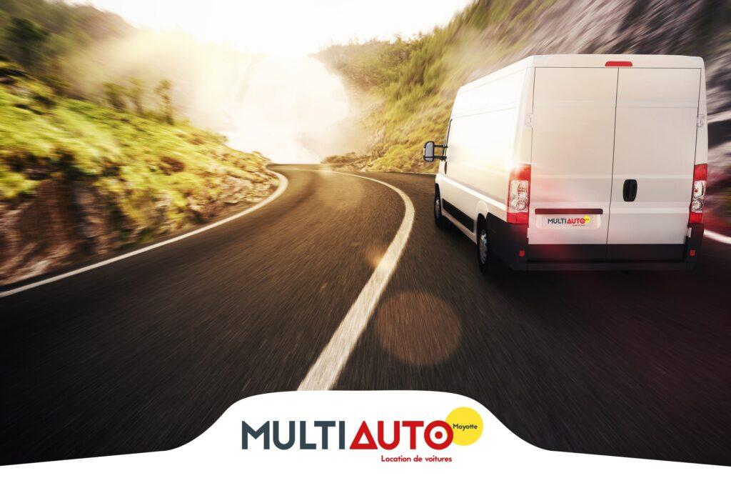 Location de véhicule professionnel avec MultiAuto Mayotte