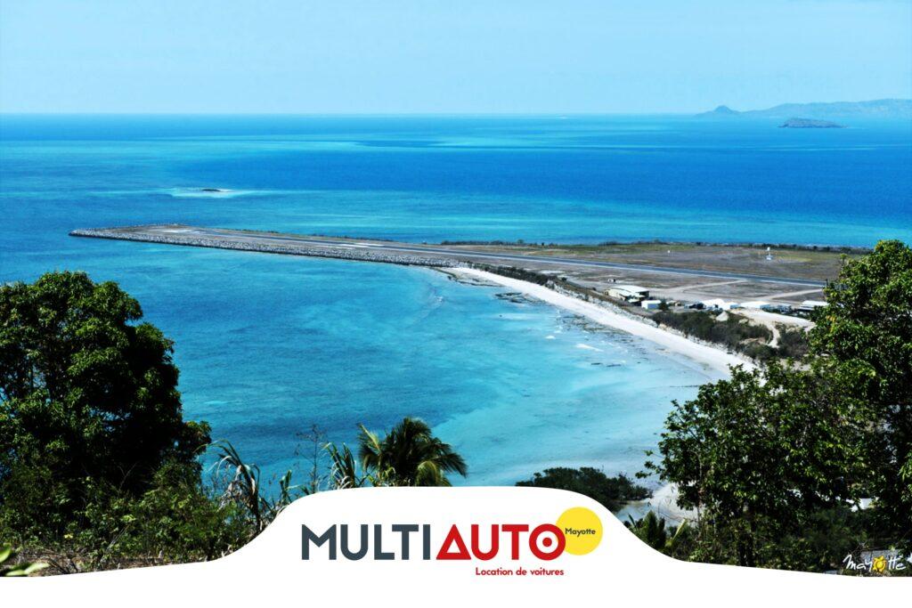 Location Aéroport pour un Road Trip avec Multi Auto Mayotte